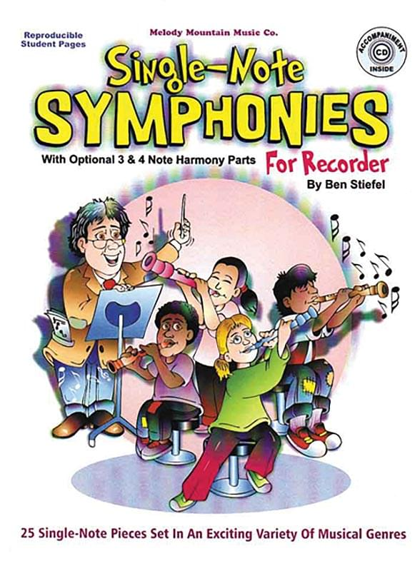 Single-Note Symphonies For Recorder
