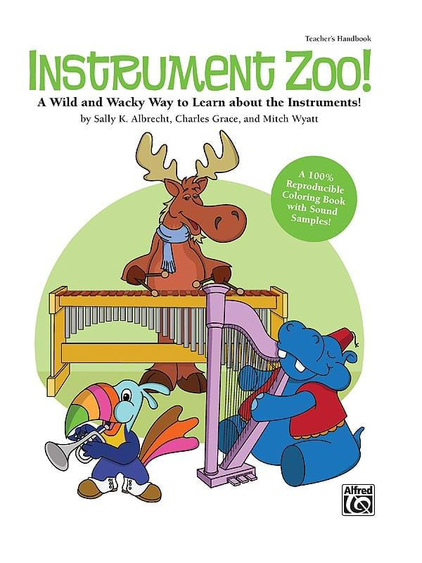 Instrument Zoo! - Book/Enhanced CD