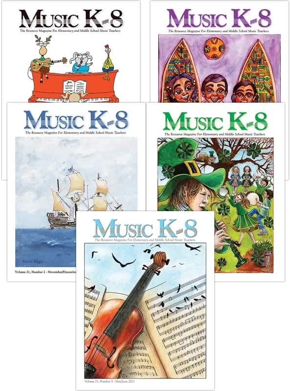 Music K-8 Vol. 21 Full Year (2010-11)