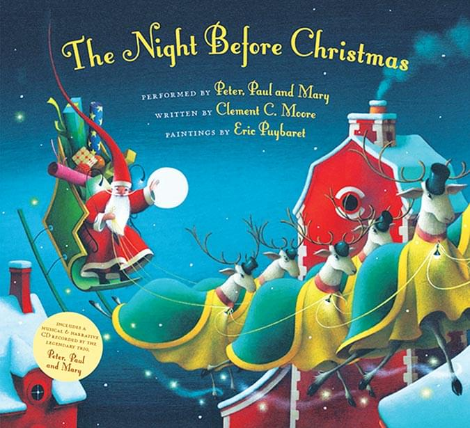 The Night Before Christmas - Hardcover Book/CD