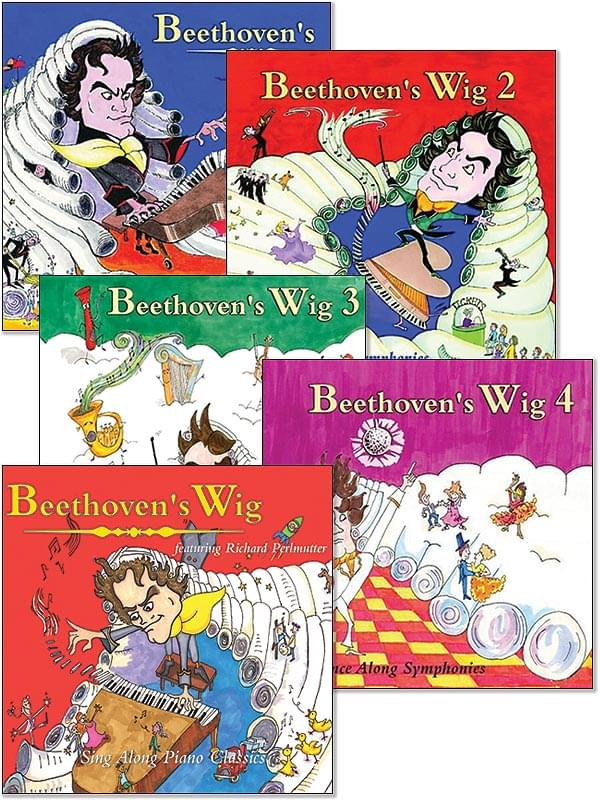 All Five Beethoven's Wig CDs