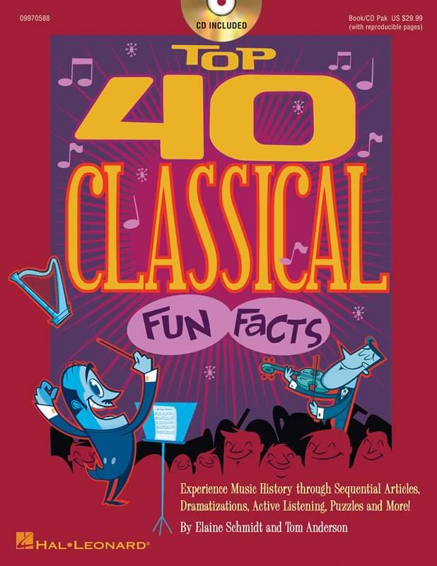 Top 40 Classical Fun Facts - Book/CD