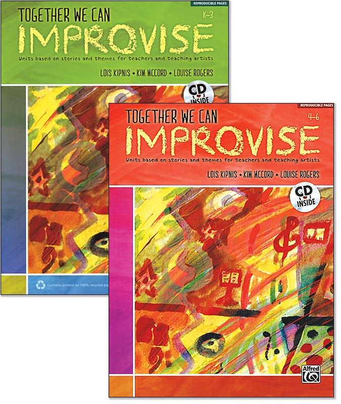 Together We Can Improvise - Vol. 1 - Grades K-3 - Book/CD