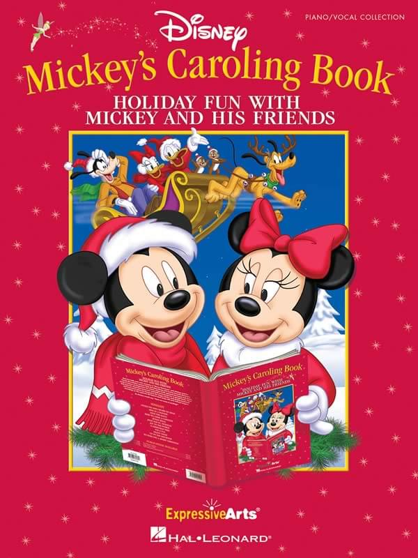 Mickey's Caroling Book - Performance/Accompaniment CD ONLY