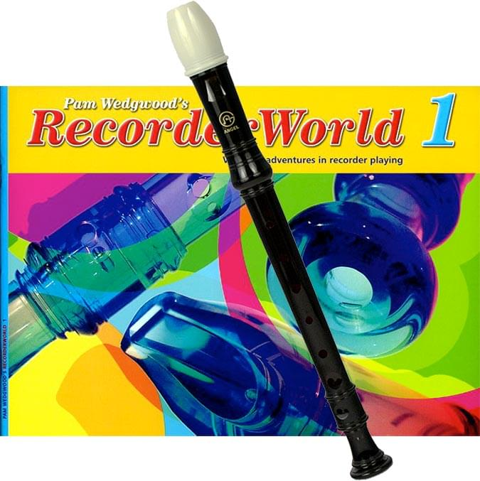 RecorderWorld Student Book with Recorder