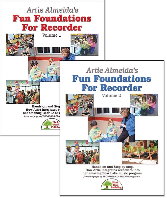 Artie Almeida's Fun Foundations For Recorder, Both Vols. 1 & 2