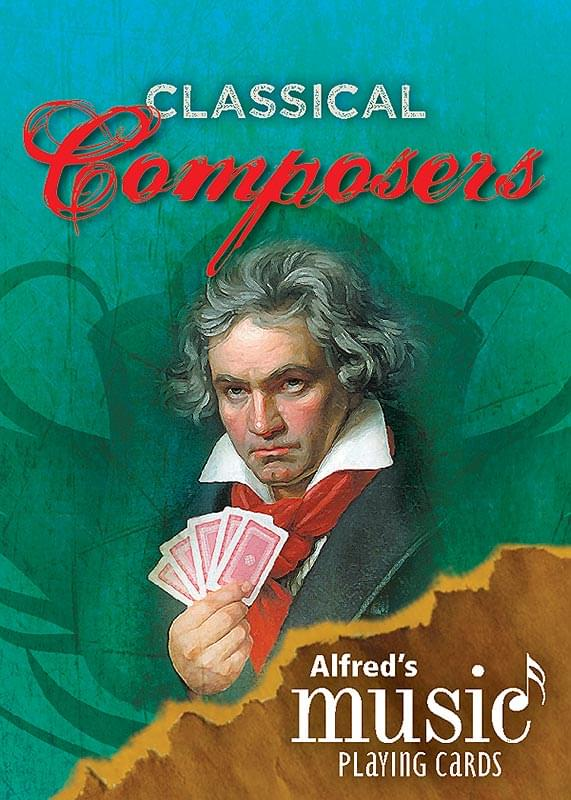 Music Playing Cards - Classical Composers/Instruments