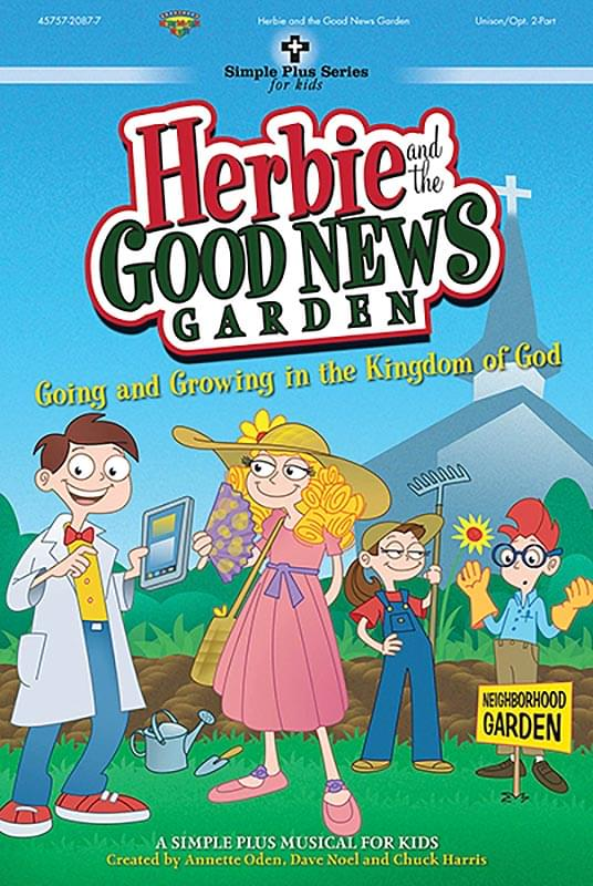 Herbie And The Good News Garden - Listening CD