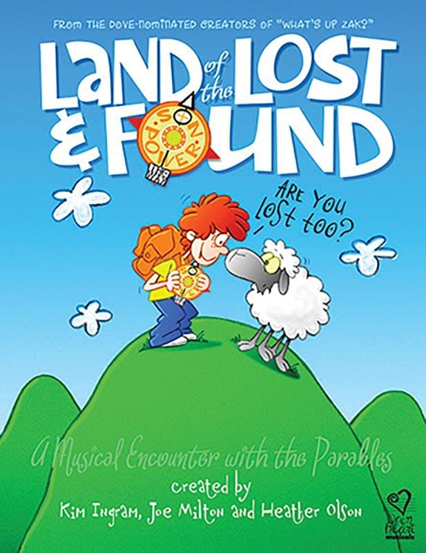 Land Of The Lost & Found - Preview Pack (Script/Score w/ Singer's Ed, List. CD - Limit 1)