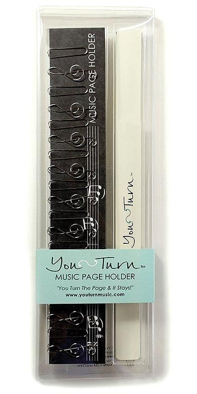 You Turn™ Music Page Holder - Black