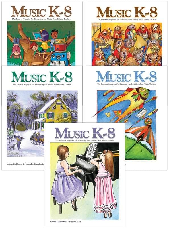Music K-8 Vol. 23 Full Year (2012-13)
