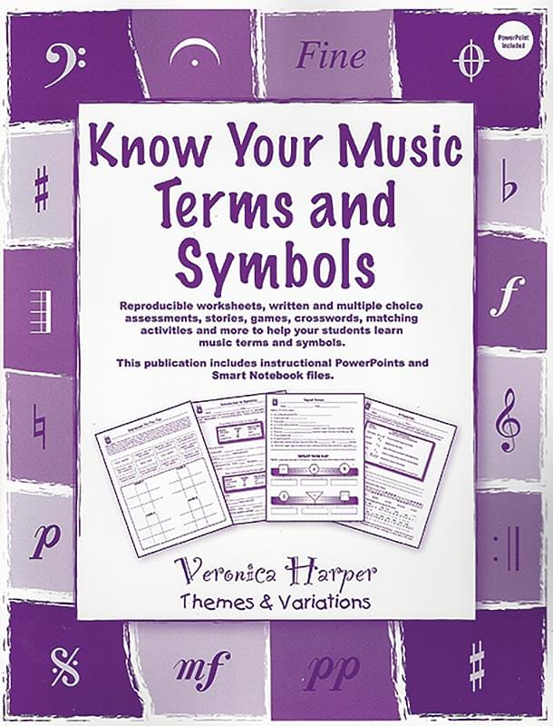 Product Detail Know Your Music Terms And Symbols