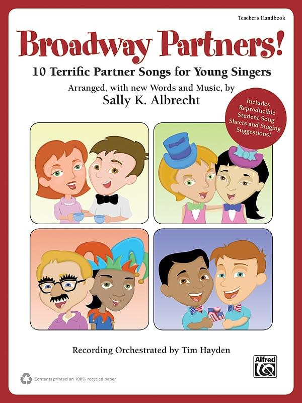 Broadway Partners! - Enhanced Performance/Accompaniment CD (w/PDF Files)