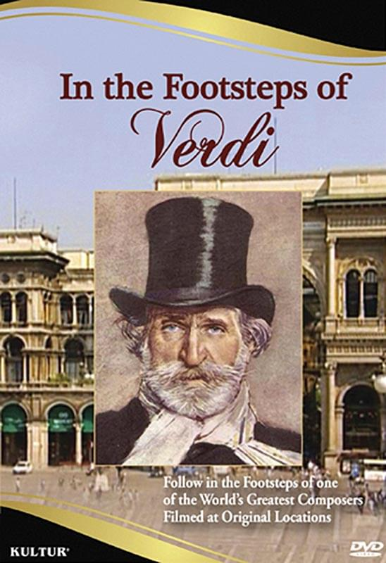In The Footsteps Of Verdi - DVD