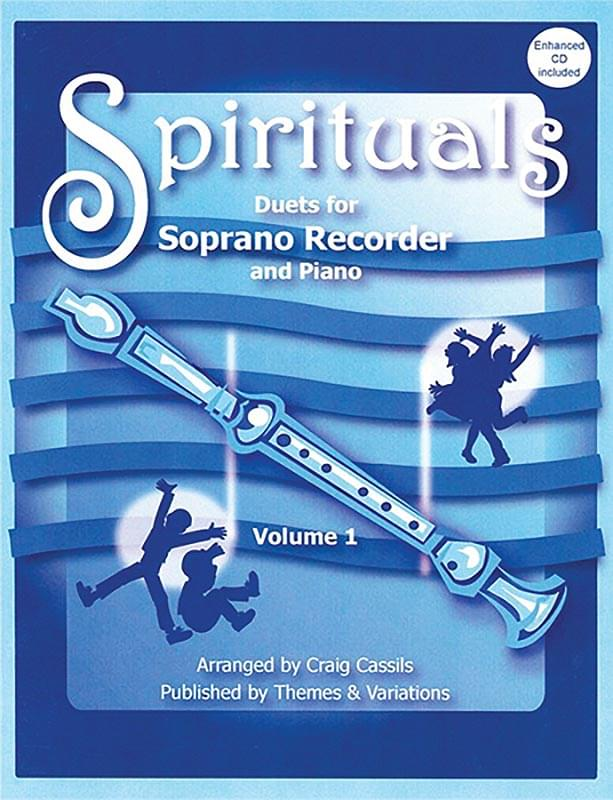Spirituals - Duets For Recorder/Piano - Vol. 1 - Book/Enhanced Performance/Accompaniment CD