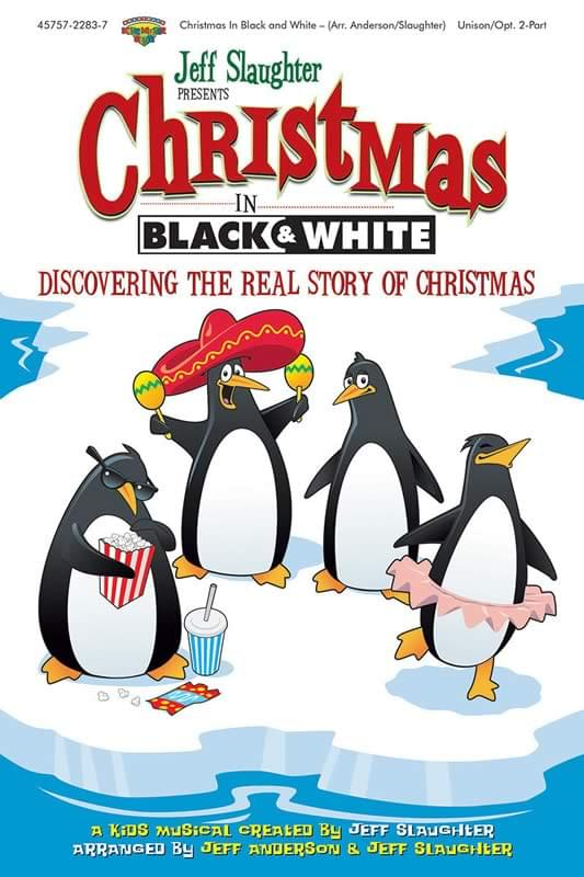 Christmas In Black & White (unison/2-pt) - Choral Book