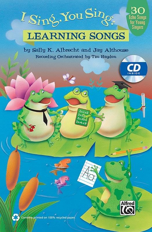 I Sing, You Sing - Learning Songs - Classroom Kit (Book/CD)