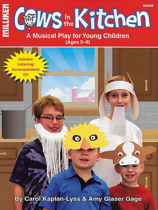 Cows In The Kitchen - Musical Play w/ PA CD