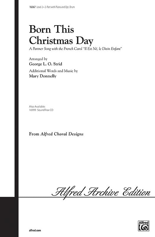 Born This Christmas Day (Il Est Né) - 2-Part Choral (pack of 6)