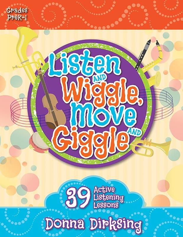 Listen And Wiggle, Move And Giggle - Book Only
