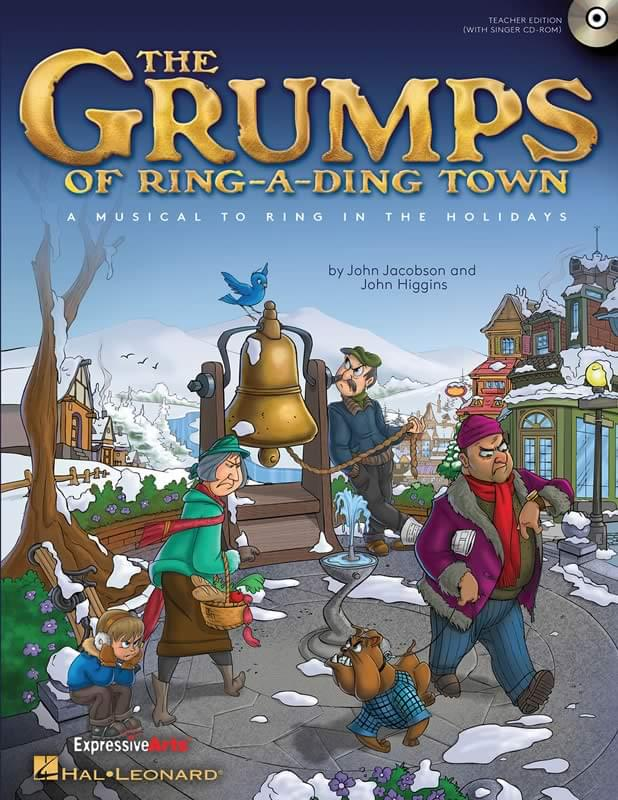 The Grumps Of Ring-A-Ding Town - Preview CD (w/ vocals and dialog)