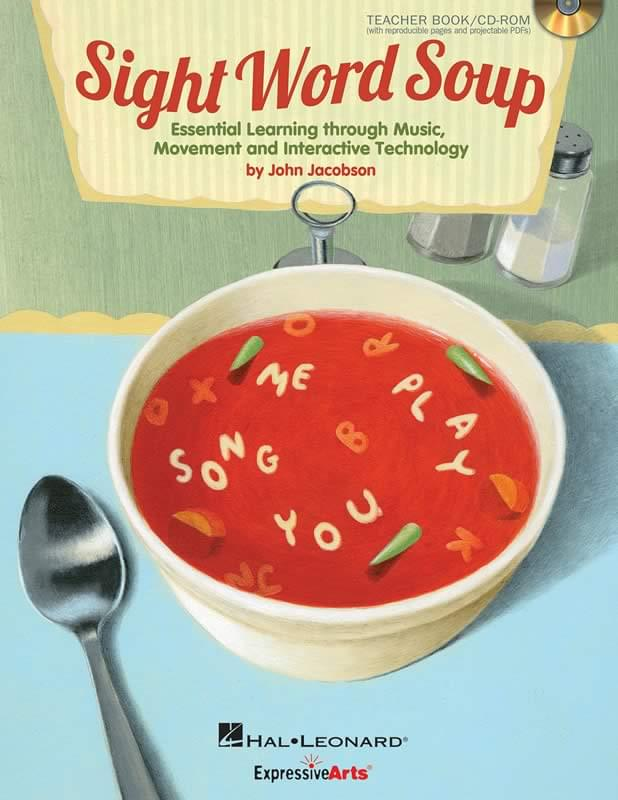 Sight Word Soup - Book/Enhanced CD
