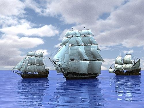 Saga Of The Three Ships