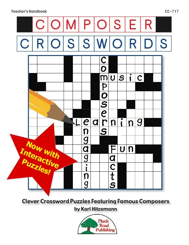 Composer Crosswords - Volume 1