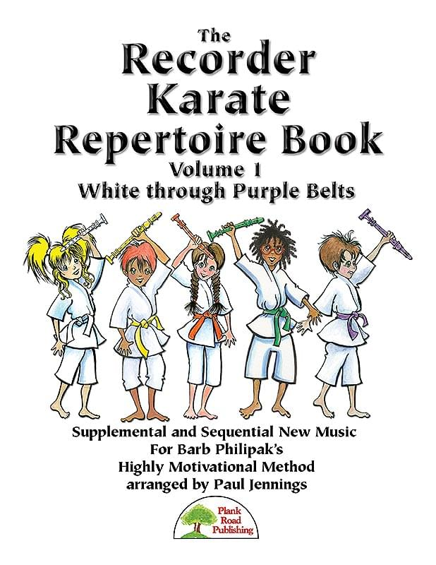 Recorder Karate Repertoire Book 1 Cover