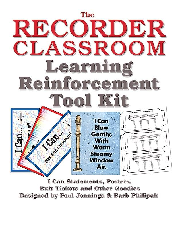 The Recorder Classroom Learning Reinforcement Tool Kit