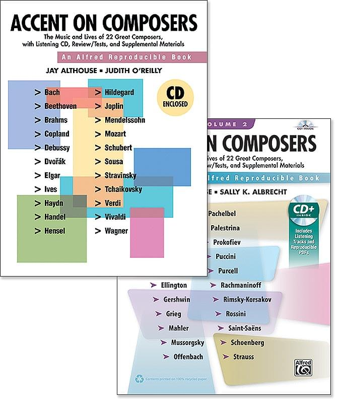 Accent On Composers - Both Volumes 1 & 2