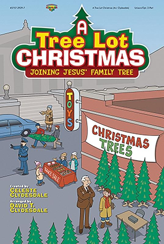 A Tree Lot Christmas - Preview Pak (Listening CD & Choral Bk - Limit 1)