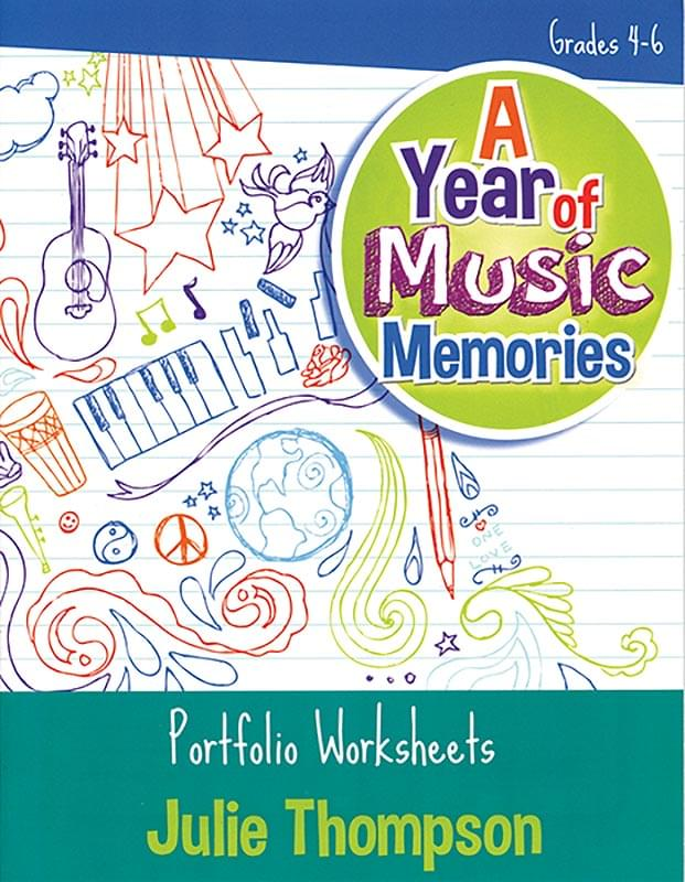 A Year Of Music Memories - Book