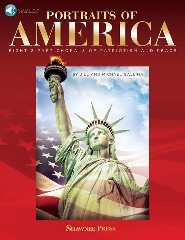Portraits Of America - Collection - Softcover Book w/Audio & PDF Dwnld