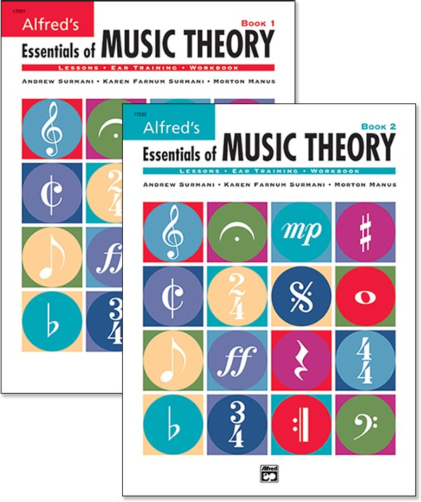 Alfred's Essentials Of Music Theory - Student Books