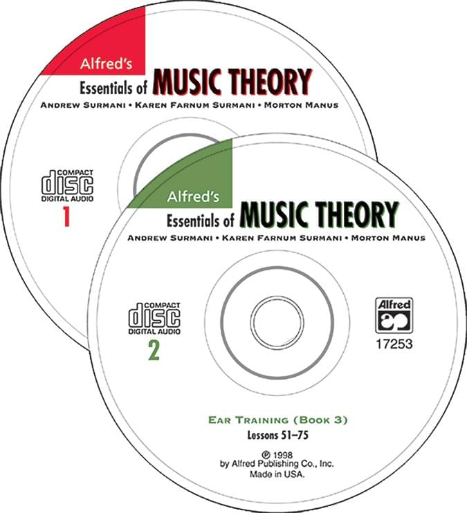 Alfred's Essentials Of Music Theory Ear Training CDs