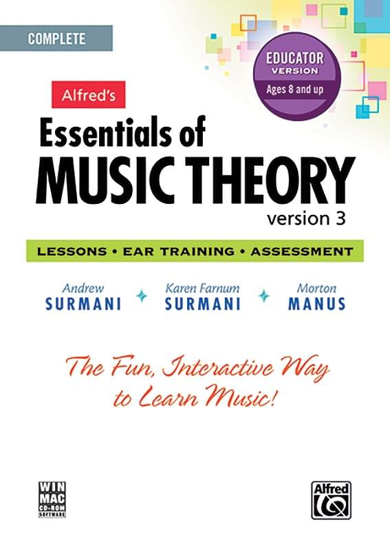 Alfred's Essentials Of Music Theory Software CD-ROM