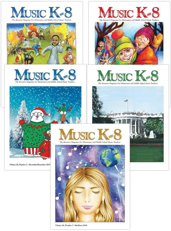 Music K-8 Vol. 26 Full Year (2015-16)