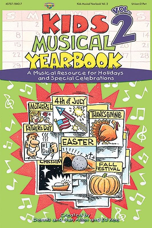 Kids Musical Yearbook - Vol. 2 - Split Track Accompaniment CD