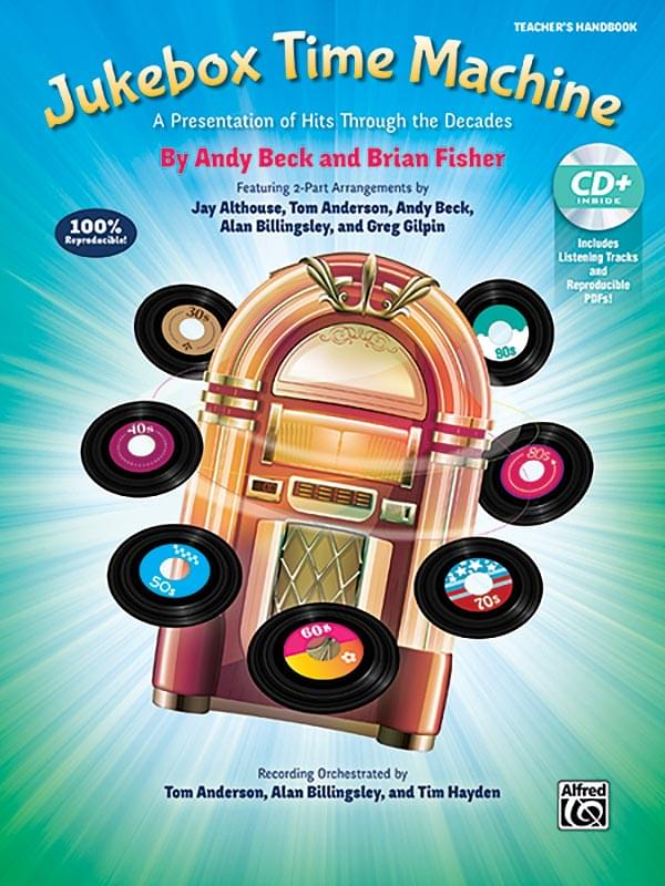 Jukebox Time Machine - Book & Enhanced P/A CD