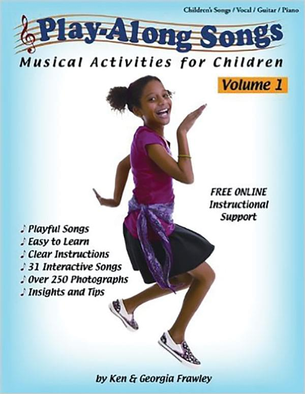 Play-Along Songs - Musical Activities For Children - Vol. 1 - Book/CD