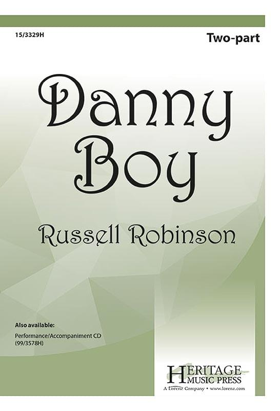 Danny Boy - 2-Part Choral (pack of 5)