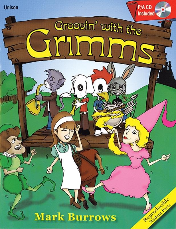 Groovin' With The Grimms - Book/CD