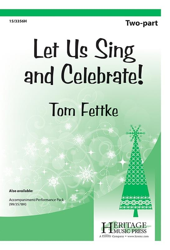Let Us Sing And Celebrate! - 2-Part Choral (pack of 5)