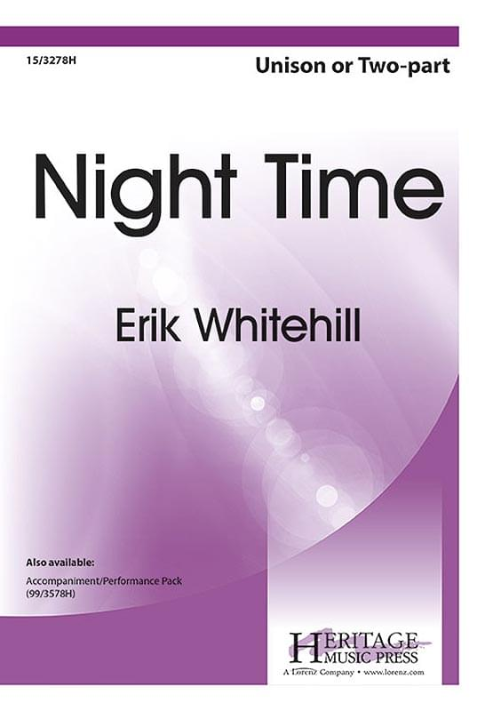 Night Time - 2-Part Choral  (pack of 5)