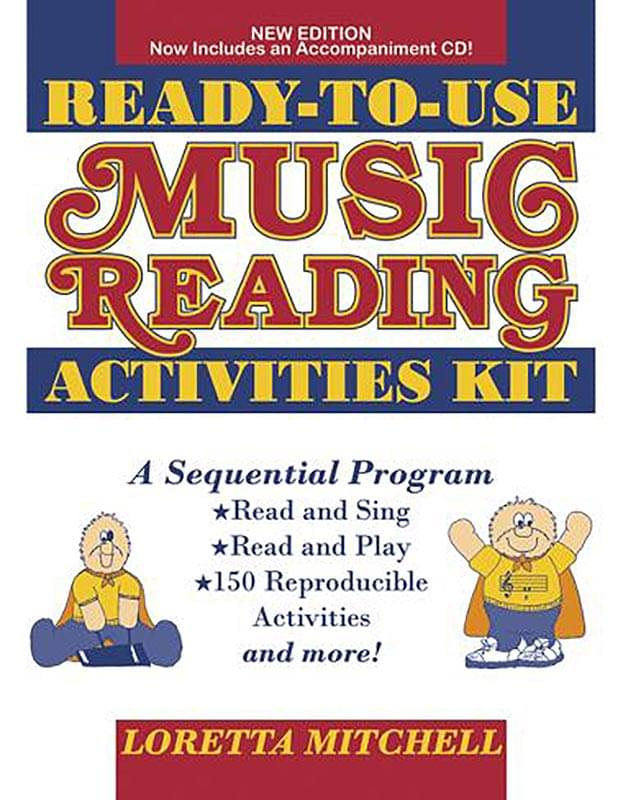 Ready-To-Use Music Reading Activities Kit - Book/CD