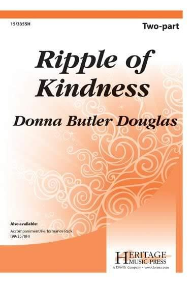 Ripple Of Kindness - 2-Part Choral (pack of 5)