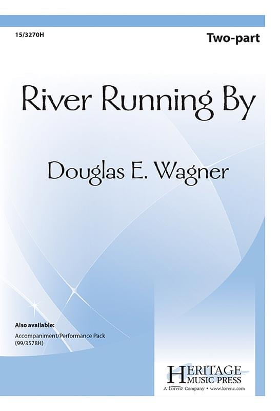 River Running By - 2-Part Choral (pack of 5)