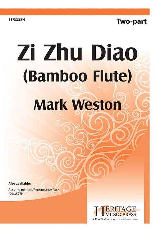 Zi Zhu Diao (Bamboo Flute) - 2-Part Choral (pack of 5)