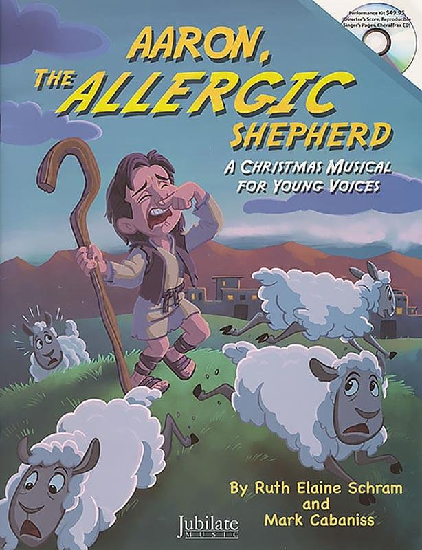 Aaron, The Allergic Shepherd - Book/Accompaniment CD (Stereo & Split-Track)